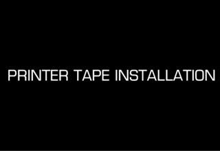 How to install a new tape